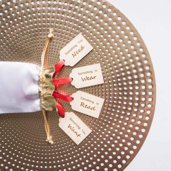 Want, Need, Wear, Read - GIft Tags