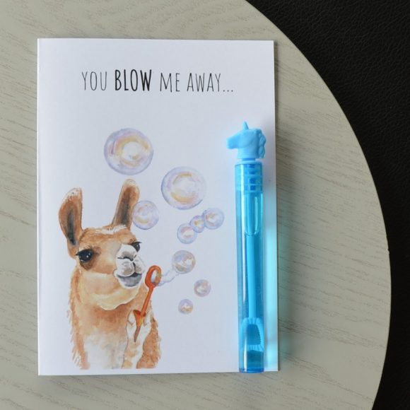 Blow Me Away Valentine's Card