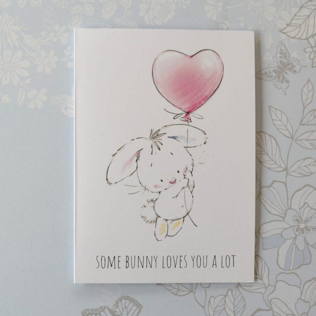 Bunny Loves You Card