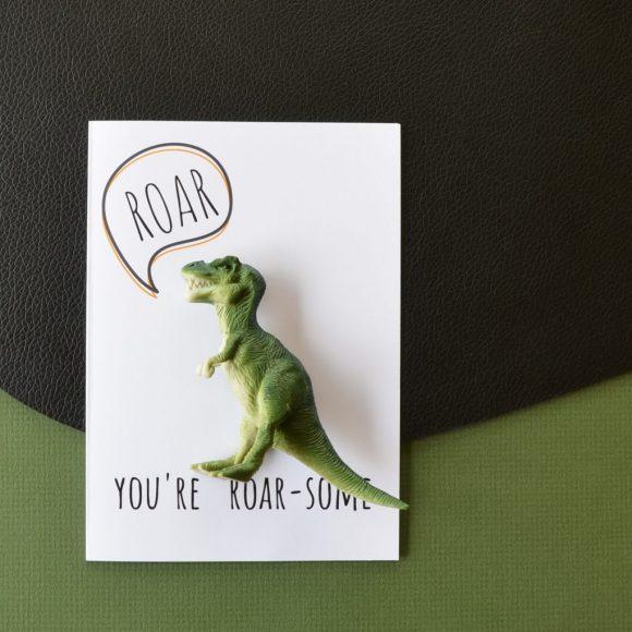 Roar-some card