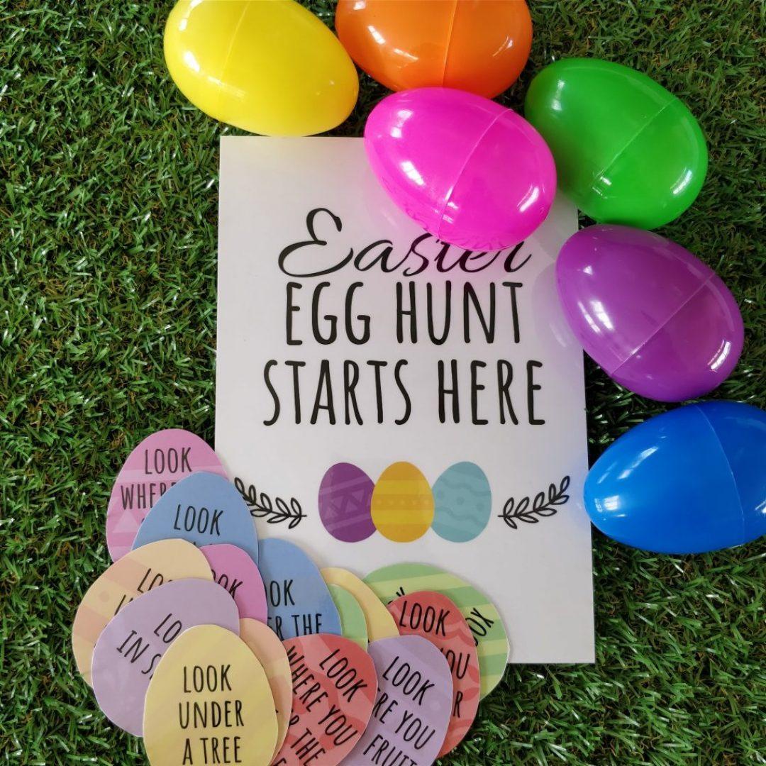 Scavenger Hunt Eggs